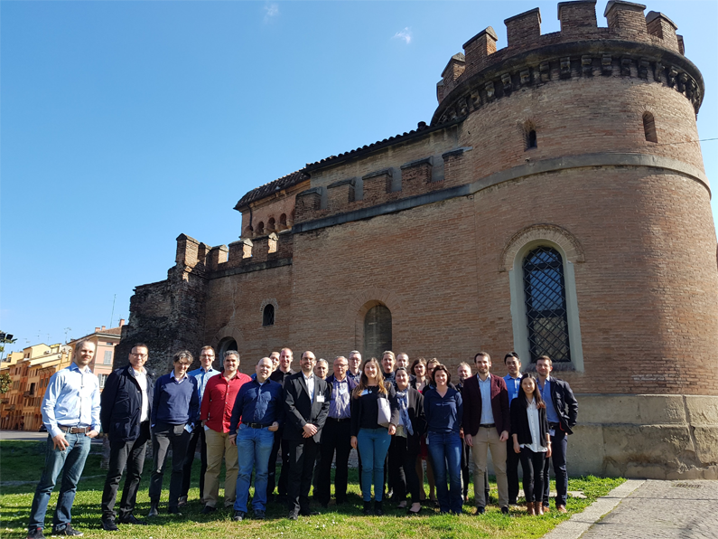 TeaM Cables consortium at Unviersity of Bologna, Italy in March 2019